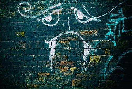 Wall, Bricks, Brickwall, Facebook, Sad, Sadness, Crisis