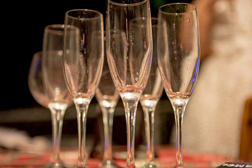Cheers, Glass, Champagne, Party, Celebration, Happy