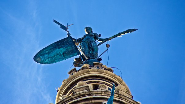 The Bronze Statuet, The Top Of The Girald, Giralda