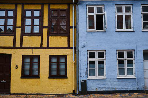 Houses, House, Old, Road, Architecture, City, Window