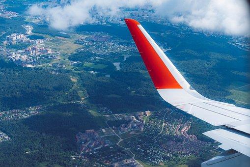 Plane, Trip, Journey, Sky, Wing, Soar, Flight, Flying