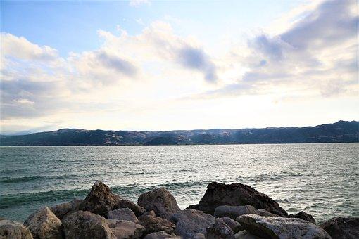 Lake, Water, Nature, Landscape, Sky, Blue, Beautiful