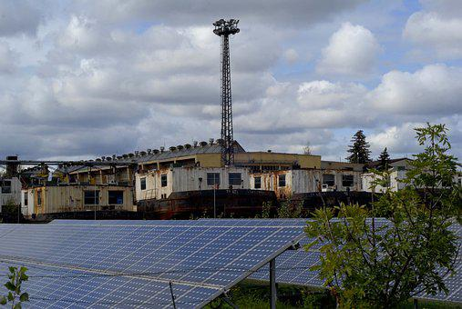 The Periphery, Shipwrecks, Mast, Photovoltaic Panels