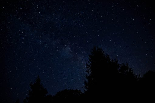 Milky Way, Night Sky, Stars, Astrophotography
