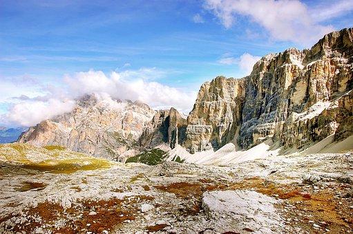 Lagazuoi, Dolomites, Italy, Nature, Scenic, Summer
