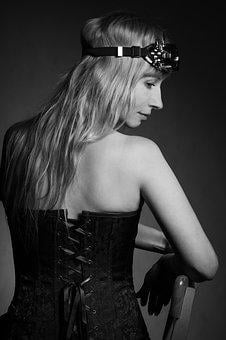 Portrait, Spin, Photo Of The Back, Corset, Lacing