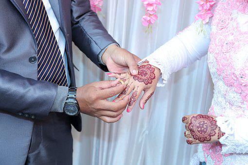 Wedding, Rings, Romantic, Couple, Celebration, Marriage