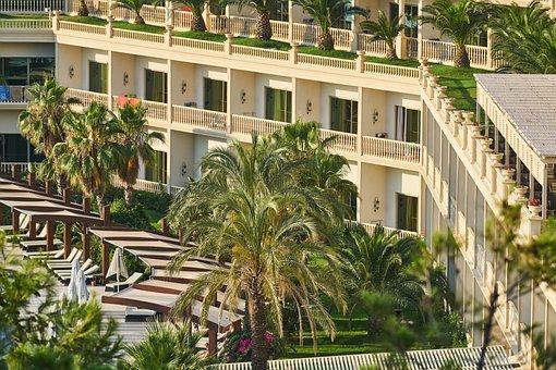 Hotel, Architecture, Building, Beautiful, Room, Big