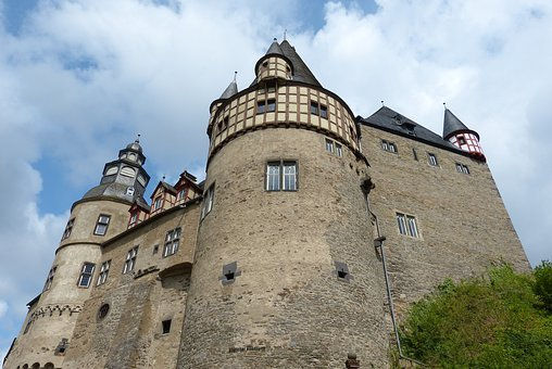 Castle, Mosel, Architecture, Germany, Sachsen