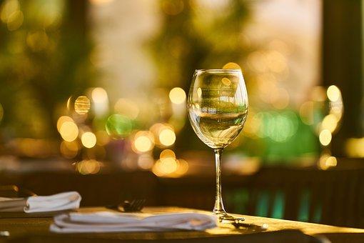Wine, A Toast, Invite, Beautiful, Table, Service