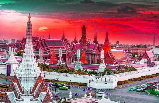 Bangkok, Traditional, Landscape, Culture, Cityscape