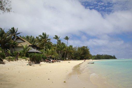 Rarotonga, Island, Pacific, Ocean, See, Water, Holiday