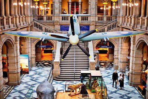 Spitfire, Museum, Historic, Airplane, Flight, Display
