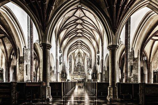 Church, Dom, Gothic, Catholic, Architecture, Religion