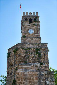 Clock Tower, Building, Stone, Old, Architecture, City