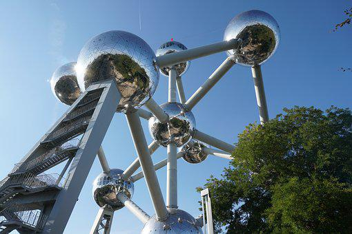 Atomium, Brussels, Belgium, Atom, Travel, Building