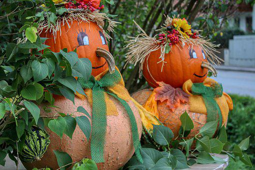 Pumpkin, Deco, Autumn Decoration, Autumn