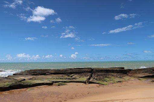 Beach, Beautiful Beaches, Bahia, Brazil, End Of Life