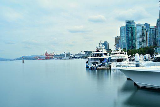 Waterfront, Harbourfront, Ducked Ships, Cruise Ships