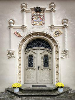 Door, Goal, Input, Architecture, Gate, Old, Metal, Wood