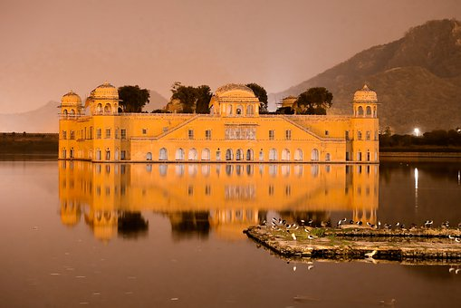 Indian, Travel, Hill, Famous, Architecture, Jaipur
