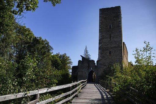 Hrad, Kaja, History, Castle, Building, Medieval, Old