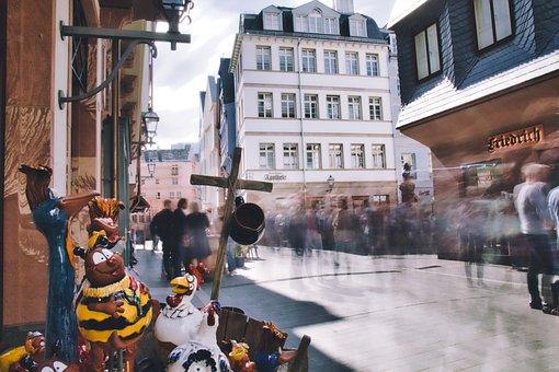 Street, City, People, Building, Pedestrian, Group