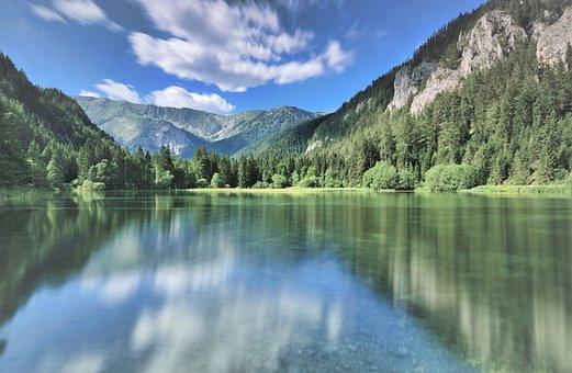 Landscape, Nature, Rest, Sky, Mountains, Still