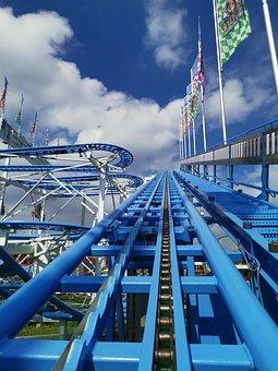Roller Coaster, Coaster Lift, Wild Mouse, Fair
