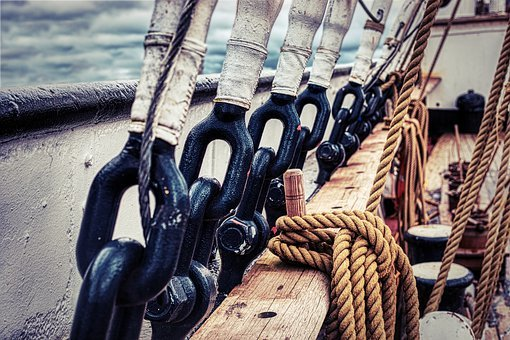 Ship, Rigging, Rope, Sailing, Nautical, Vessel