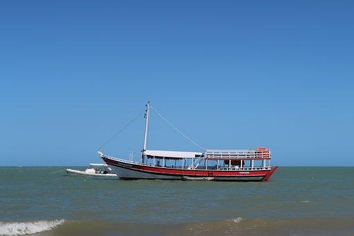 Ferry, Bahia, Brazil, Mar, Beach, Atlantic, Safe Harbor