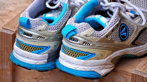 Sports Shoes, Shoes, Run, Sneakers, Sport, Jog