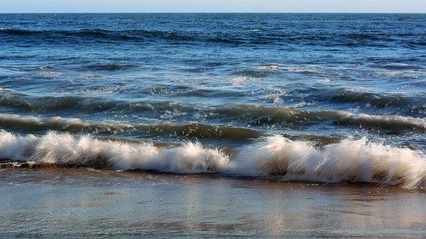 Ripple, Waves, Ocean, Sand, Beach, Water, Reflection
