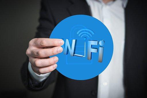 Wireless, Technology, Security, Hand, Presentation