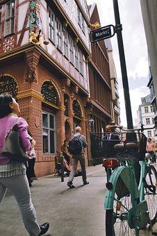 City, Road, Street, Building, Architecture, Pedestrian