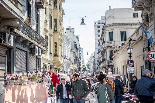 Buenosaires, City, Argentina, Buildings, Urban, Tango