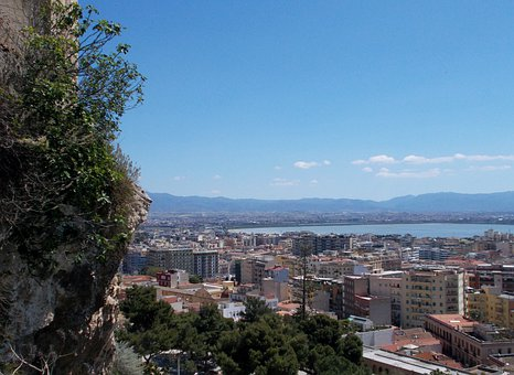 Cagliari, Landscape, Sardinia, Italy, Mediterranean