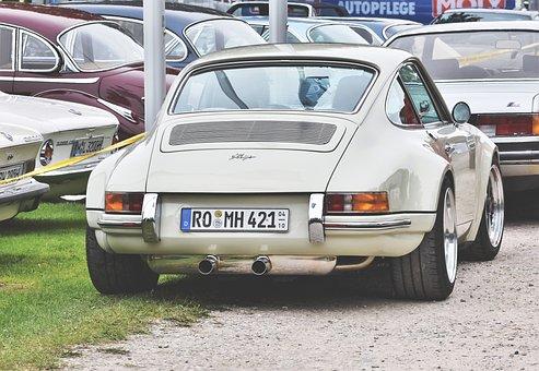 Porsche, Oldtimer, 911, Classic, Sports Car, Vehicle