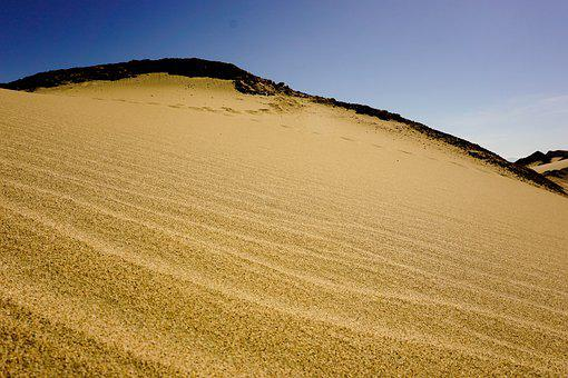 Desert, View, Peru, Ica, Huacachina, Endless, Sand