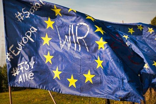 Europe, Europe Flag, Flag, Eu Flag, European, Star