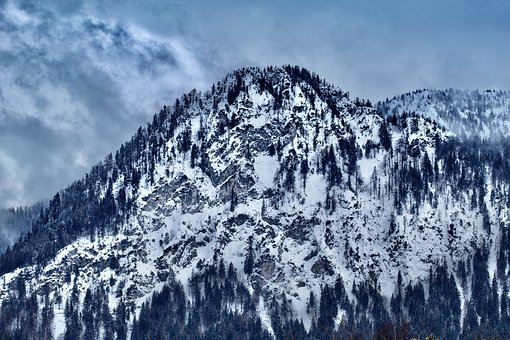 Snow, Nature, Mountain, Hill, Winter, Sky, Tree