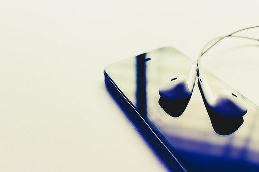Music, Headphones, Headset, Listening, Earphone, Sound