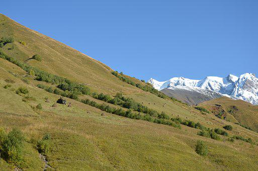 Georgia, Mountains, Landscape, Nature, Mountain