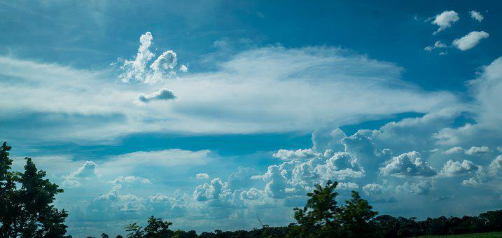 Sky, Clouds, Humor, Landscape, Atmosphere, Nature, Time