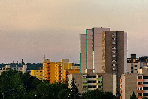 Town, Buildings, Colors, Architecture, Old, Outdoor