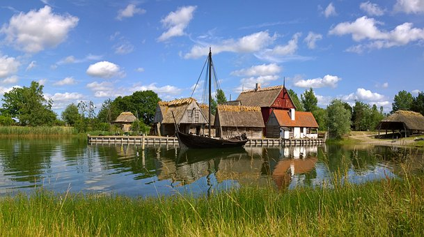 Historic, The Middle Ages, Denmark, Past