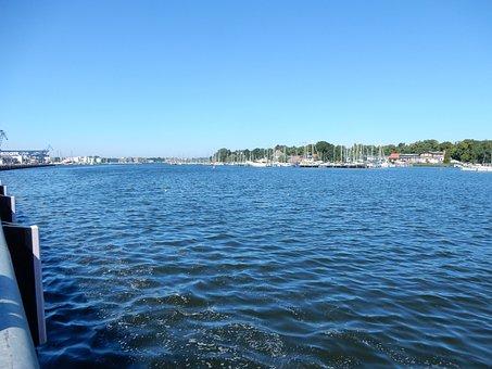 Baltic Sea, Water, Port, Rostock