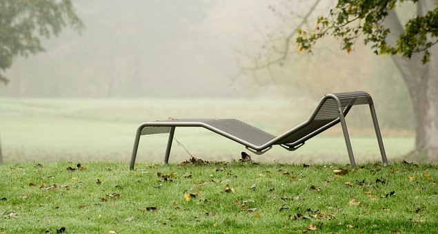 Autumn, Deck Chair, Rush, Click, Sit, Relaxation