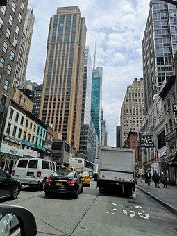 Town, Street, City, Urban, Road