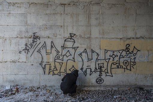 Graffiti, Mural, Wall, Urban, Painting, City, Painted